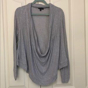 NWOT Grey Bebe Sweater Size M/L